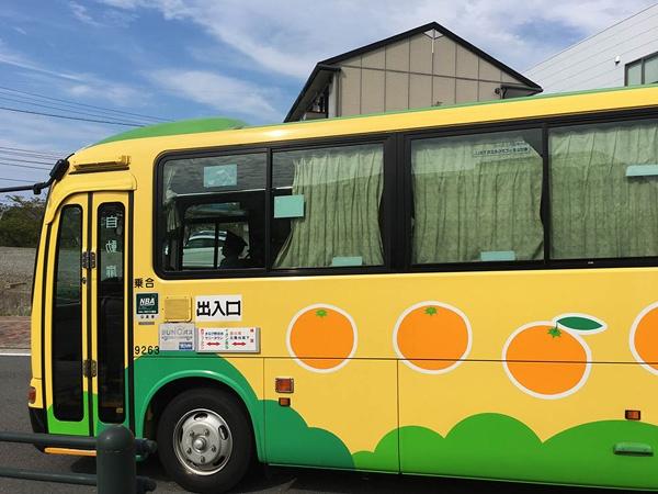 地元のバス