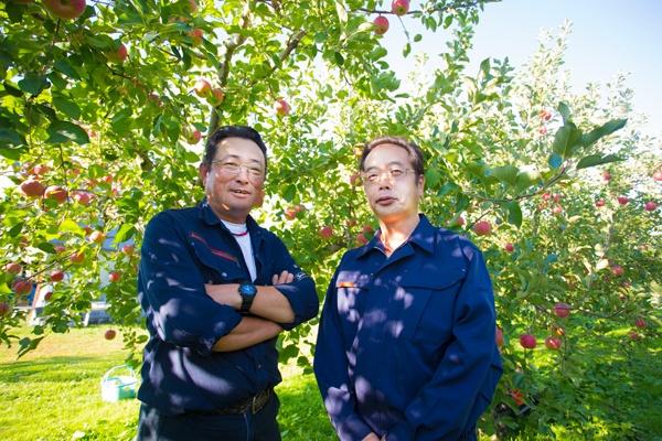 田澤さんと三上部長。二人の信頼関係は厚い(写真:佐藤久)
