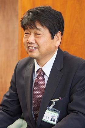 JA周桑 生活部長の竹田博之氏<br>(写真:吉澤咲子)