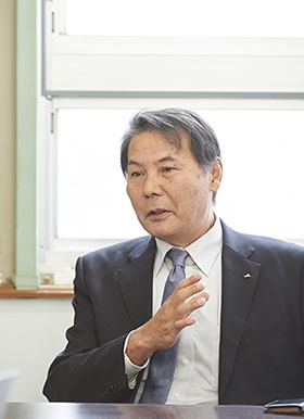 代表理事組合長の福田勝徳氏