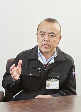 担い手専任渉外課課長の星原幸広氏