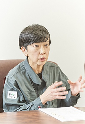 JA熊本中央会・連合会 担い手・法人サポートセンターの冨岡美紀氏
