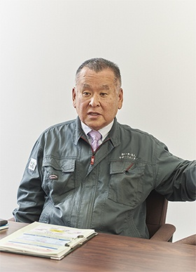 JA熊本中央会・連合会 担い手・法人サポートセンターの担い手・法人担当課長の樅木浩介氏
