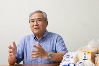 国産小麦を用いたパン開発の取り組みを語る敷島製パンの根本氏