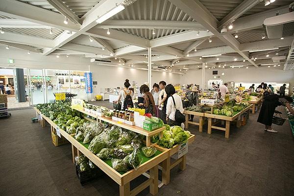 野幌地区の生産者達が自ら運営する「のっぽろ野菜直売所」。もともとはこの場所は直売所だけだった