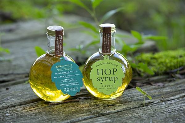 BEER EXPERIENCEが生産する「ホップシロップ」。こうした6次産業化も事業拡大に貢献