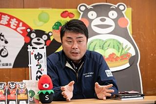 JAグループ熊本 青果物コントロールセンター JAやつしろ 係長 西郡義博氏