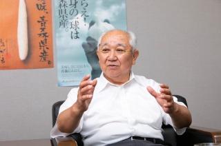 JAゆうき青森 代表理事組合長 酒井一由 氏