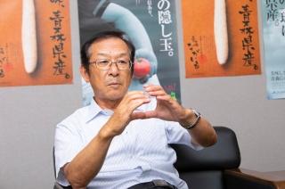 JAゆうき青森 代表理事専務 営農経済担当兼務 乙部 輝雄 氏