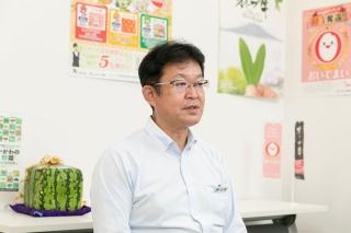 JA香川県 営農経済部門 本店経済部 部長 北岡泰志 氏
