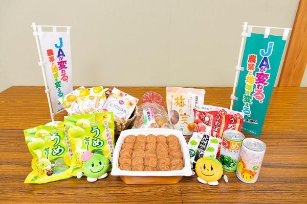 JA紀南がある和歌山県田辺市は、梅のブランドである紀州梅に加え、温州ミカン・中晩柑、スモモ、花き、野菜、茶などの栽培も盛んだ