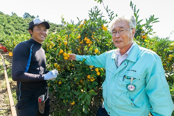 生田氏から時に厳しく指導頂いたからこそ自立を果たせた、と語る山本氏