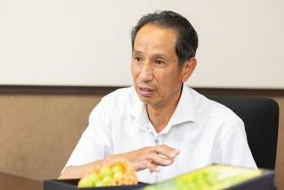 スマート農業を推進するJAフルーツ山梨営農指導部 部長の反田公紀 氏