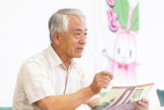 日野菜生産部会 副部会長 寺澤清穂 氏