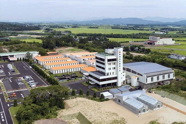 新潟食料農業大学の胎内キャンパス