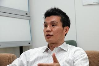 早くから農福連携に取り組んできたJA共済総合研究所の濱田健司主任研究員(写真:市川史樹)