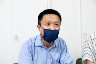 埼玉県農林部農業支援課 経営体支援担当の郡 克主幹(写真:佐々木睦)