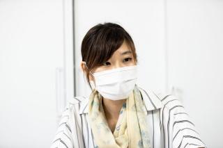 農業支援課経営体支援担当の三橋伊蕗技師(写真:佐々木睦)