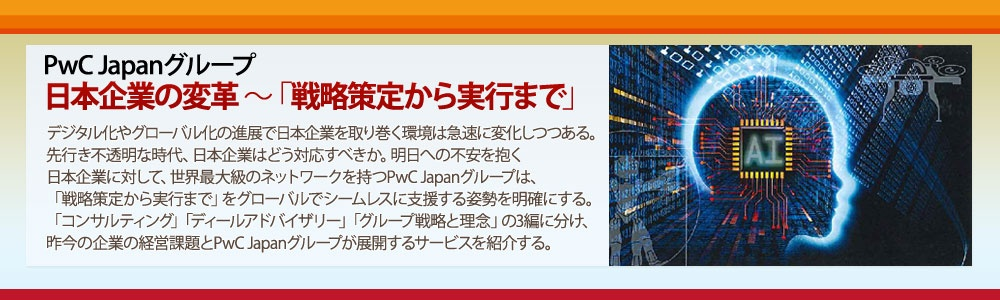PwC 日本企業の変革~戦略策定から実行まで
