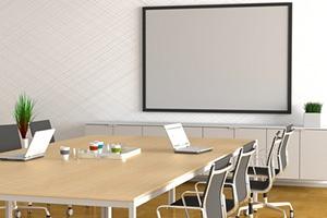 設備の揃った会議室