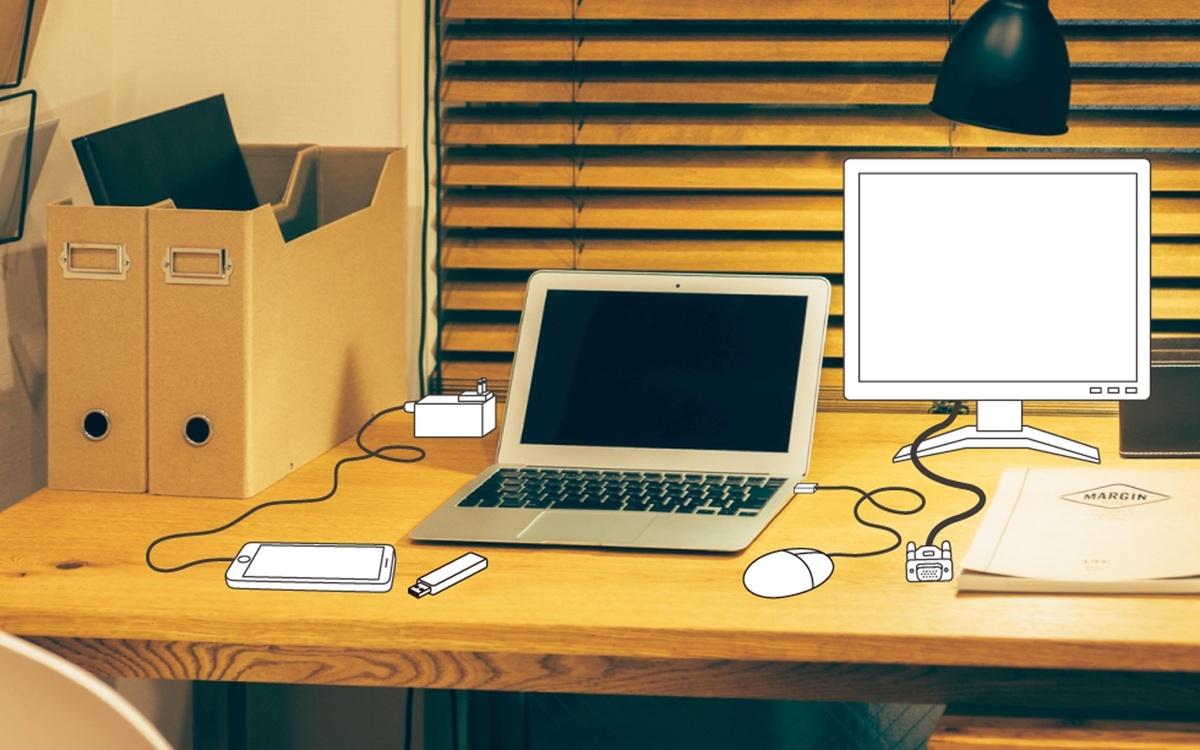 持ち運びには便利なスタイリッシュなモバイルノートパソコンも、テレワークの基地となると…。